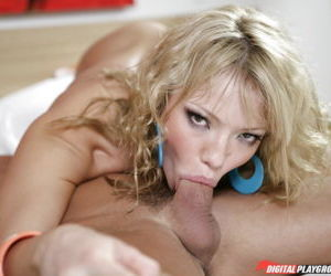 Blonde Latina with tiny tits taking hardcore ass fucking..