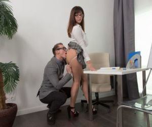 Young amateur Katty Blessed is relieved of her clothing..