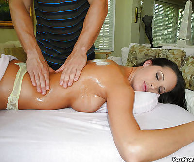 Kourtney Kane enjoys her breast massaged and her cunt fucked