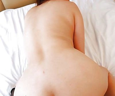 Asian gal Eiko Kawai gets trimmed pussy vibed- cocked up and creampied - part 2