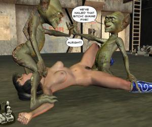 D tentacules et Alien Viol - PARTIE 3