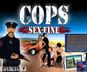 Cops - Sex-fine 3D
