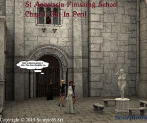 St Anastasia Finishing School- Chap 1: Blu In Peril