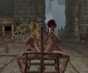 Skyrim bondage furniture collection - part 11