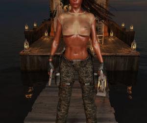 3DX-Lara-Croft - part 2