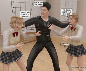 Incestbdsm - Teaching freshie to respect her parents -..