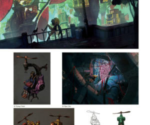 GRAVITY DAZE ARTBOOK - part 11