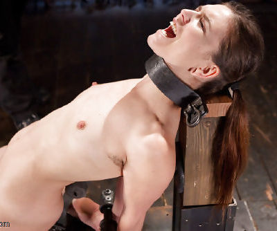 Young slut Juliette March tortured with electroshock in bondage - part 2